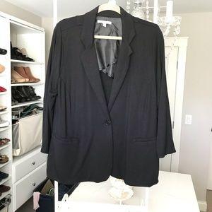 41 Hawthorn black blazer 2x with back bow detail